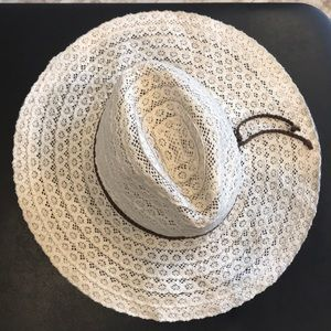Free People Woven beach hat